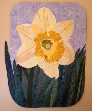 Delicate Daffodil : 44x56