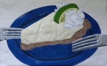 Key Lime Pie for Me and My Sweetie : 24x15 : 2013 : Private Collection